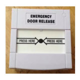 Resettable Emergency Door Release with White Color (SACP22W)