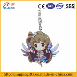 Custom Print Cute Animation Metal Key Chain with Ring (JK-002)