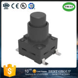 Fb0884 (SMT 8.0*8.0*H=12~17mm) with Sheath Patch Waterproof Button Switch