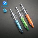 Multi Color Promotional Syringe Highlighter Pen with Ballpen 2 in 1 Pen