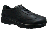 Grace Health Shoes Leather Shoes for Diabetic Foot with Lace-up Design
