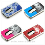 Hand Push Type Card Holder Calling Card Case