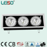Three Head LED Bay Light with Scob AR111 Source (LS-R3645-BWWD/BWD))
