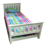 Wooden Bed Frame with Storage Pulled Bed Daybed European Style