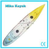 Sit on Top Double Kayak Fishing Boats Plastic Canoe