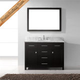 Fed-1050 48 Inch Wholesale Solid Wood Espresso Modern Hotel Bathroom Furniture
