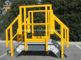FRP/GRP Pultruded Grating Square Tube Structural Shapes