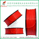 1.75mm or 3.0mm Red Color ABS Plastic Rods Filaments for Home 3D Printer