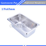 1/9 Stainless Steel Gastronom Pans/Gn Food Pans/Gastronom Container Buffet Ware1925A