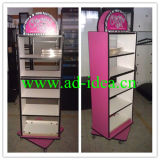 Elegant Slat Display Cabinet, Display Shelf (AD-DC-8802)