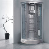 Bathroom Corner Sliding Glass Massage Shower Cubicle Circle