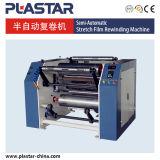 Semi Automatic Stretch Film Rewinder Machine