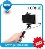 2015 Cheap Handheld Monopod Cable Take Pole Selfie Stick