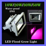 Water Proof Outdoor 10W Blue 554nm Red 660nm Hydroponic Plant Flood LED Grow Light