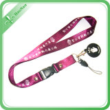 Customized Polyester Lanyards with Heat Transfer Printing (LD-109)