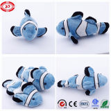 Blue Clown Cover and Stuffed Plush Fish Custom Gift Toy