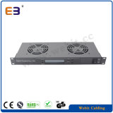1u Rack Mounting Temperature Controller Fan Unit Used for Netwrok Cabinet