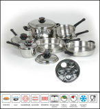 Gourmet Cookware Set Stainless Steel Kitchenware