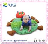 Fashional and Soft Short Floss Caterpillar Shaped Baby Play Mat