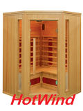 2017 Hotwind Hemlock Far Infrared Sauna for 3-4 Person-Ap3c