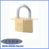 Hot Sale Brass Painted/Silver Painted Rhombic Type Iron Padlock