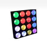 Imported 16PCS RGB COB LED Martrix Blinder Effect Light