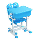 Plastic School Furniture Student Chair Student Desk for One People