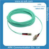 Sc-LC Multimode 50/125 Om3 Aqua Duplex Fiber Optic Cable/Patchcord