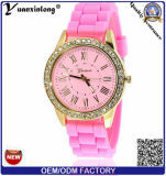 Yxl-904 2016 Fashion Casual Geneva Silicone Quartz Watch Ladies Jelly Sport Wristwatch Woman Dress Brand Watches