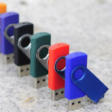 Colorful USB Classic Swivel USB Flash Drive with Logo