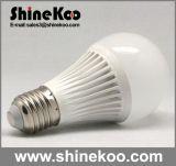 Aluminium Plastic E27 7W SMD LED Globe Lamp (G60-7W)