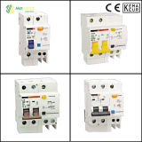 CE Standard Residual Current Operated Circuit Breaker RCBO