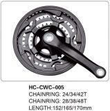 New MTB Chainwheel & Crank Cwc Crankset Hongchi Bicycles Parts Hc-Cwc-005
