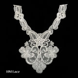 off White Collar Lace Textile Lace for Ladies Polyester Dyeable Lace X033