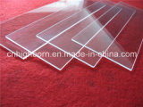 High Purity Clear Quartz Plate for UV Curing