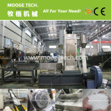 double stage die face cutting granulator machine