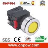 Onpow 30mm Signal Lamp (LAS0-K30-D/R/12V, CE, CCC, RoHS)