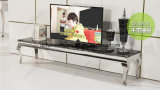 Hot Sale Simple TV Stand Marble Top 858#