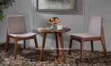 Comfortable Fabric Uphlstory Dining Table and Chair Set (LL-BC084)