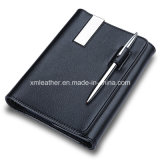 Leather Notebook with Pen Custom Journal Books