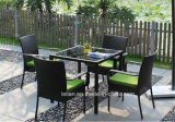 Outdoor Rattan Table and Chair Set for Garden (LL-RST004)