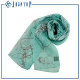 Customized Logo ODM New Design Long Scarf and Shawl