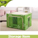 Large Kids Fabric Containers Pretty Folding Storage Box