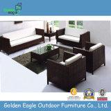 Aluminium Frame Comfortable PE Rattan Sofa