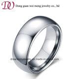 Simple Design Men′s Steel Ring Titanium Ring Silver Ring