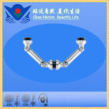 Xc-F9403 Series Hardware Accessories Double Glass Connector to Fin