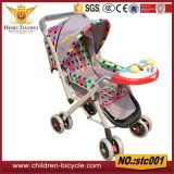 with Music and Toys Baby Stroller for Wholesale