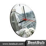 20cm Round Hardboard Clock (HBZ03)