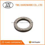 Popular Engraved Metal Flat O Ring for Strap