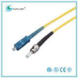 SC/PC-ST/PC Sm 9/125 Simplex 2m Fo Patch Cord